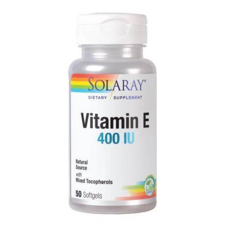 Vitamin E 400UI x 50cps Solaray