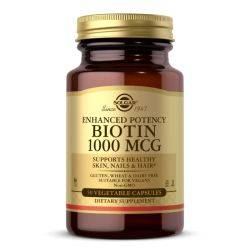 Biotin 1000mcg x 50 cap. veg. Solgar