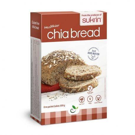 Mix paine cu chia fara gluten x 250g Sukrin