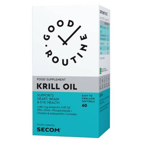 Krill Oil x 60cps Good Routine