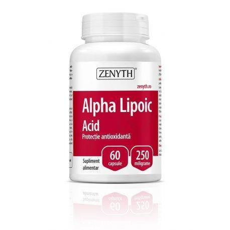 Alpha Lipoic Acid x 60cps Zenyth