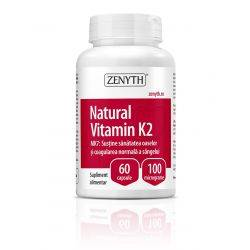 Natural Vitamin K2 x 60cps Zenyth