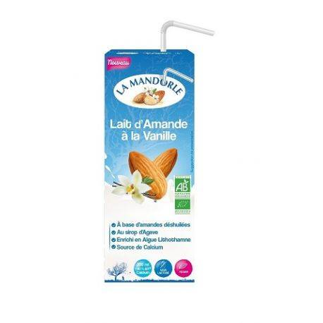 Lapte de migdale cu vanilie x 200ml La Mandorle