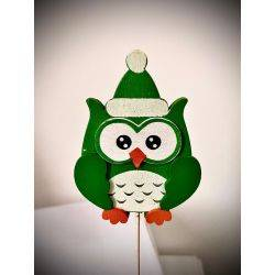 Decoratiune OWL 6x27cm Roxan