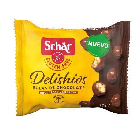 Delishios Bomboane ciocolata fara gluten x 37g Dr. Schar