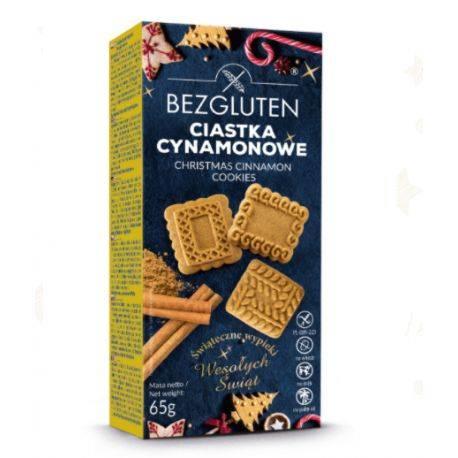 Biscuiti cu scortisoara fara gluten x 65g Bezgluten