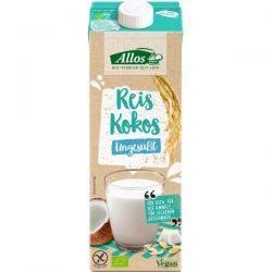 Bautura de orez cu cocos fara gluten x 1L Allos
