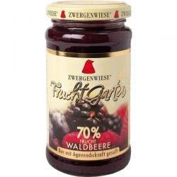 Gem de fructe de padure bio indulcit cu nectar de agave fara zahar fara gluten x 225g Zwergenwiese