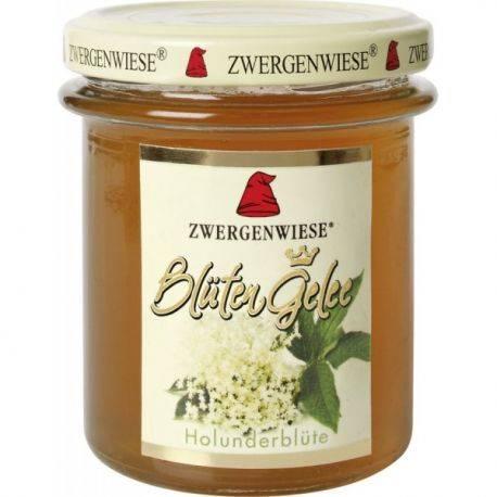 Jeleu din flori de soc bio fara gluten x 195g Zwergenwiese