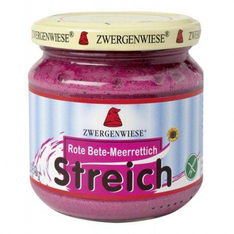 Pate vegetal cu sfecla rosie si hrean fara gluten x 180g Zwergenwiese