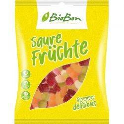 Jeleuri acrisoare de fructe fara gluten x 100g BioBon