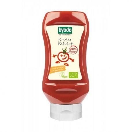Ketchup pentru copii cu 80% tomate fara gluten x 300ml Byodo