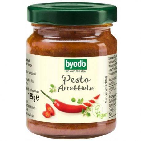 Pesto Arrabbiata fara gluten x 125g Byodo