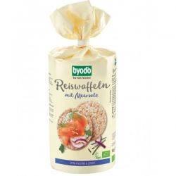 Vafe din orez integral cu sare fara gluten x 100g Byodo