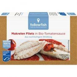 File de macrou in sos de tomate x 125g Followfish