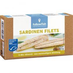 File de sardine in ulei de masline x 90g Followfish