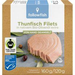 File de ton dungat in ulei de masline x 160g Followfish