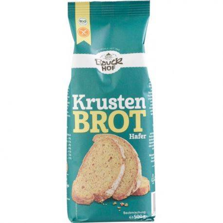 Mix pentru paine crocanta fara gluten x 500g Bauckhof