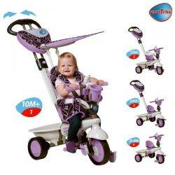 Tricicleta Smart Trike Dream Purple 4in1