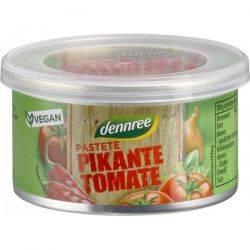 Pate picant cu tomate bio x 125g Dennree