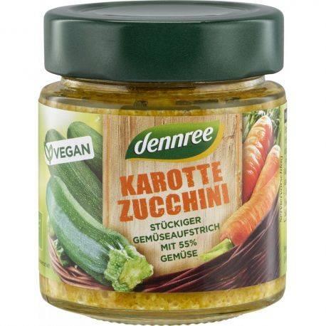 Crema tartinabila cu morcovi si zucchini x 120g Dennree