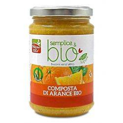 Gem bio de portocale, vegan x 320g La Finestra sul Cielo