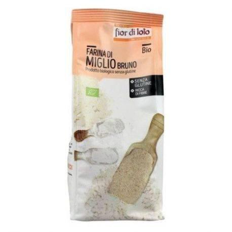 Faina de Mei brun bio fara gluten x 375g Fior di Loto