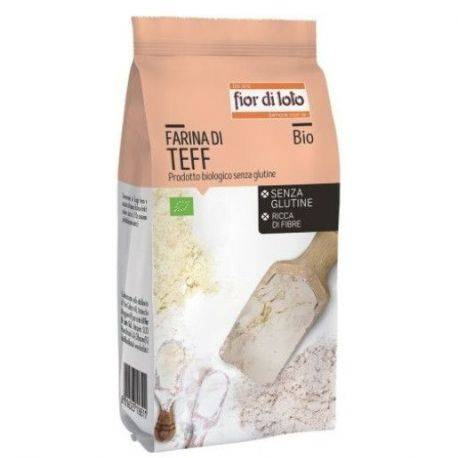 Faina de Teff bio fara gluten x 375g Fior di Loto
