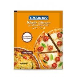 Drojdie pentru pizza si quiche fara gluten (3x16g) x 48g S.Martino