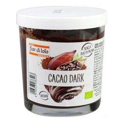 Crema bio tartinabila de ciocolata amaruie (cu cacao) vegan x 200g Fior di Loto