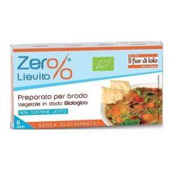Cuburi vegetale bio pentru supa, fara gluten, fara drojdie, (6 cuburi) x 66gFior di Loto