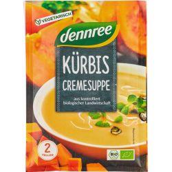 Supa crema de dovleac bio, la plic x 40g Dennree