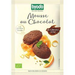Mix pentru mousse cu ciocolata fara gluten bio x 36g Byodo