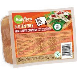 Paine mic dejun feliate cu seminte fara gluten x 190G Balviten