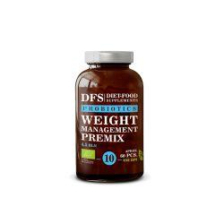 Bio Premix probiotice Controlul greutatii - 60 capsule x 27g Diet Food