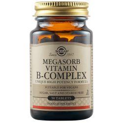 "MEGASORB B COMPLEX ""50"" tabs x 50 Solgar"