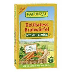 Cuburi de supă de legume delikatess bio x8buc Rapunzel
