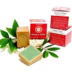 Sapun de Alep cu dafin 16 %, anti-acnee x 100g - Finigrana Alep