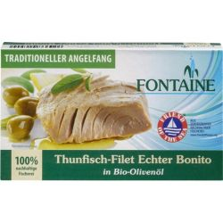 File de ton in ulei bio de masline x 120g Fontaine