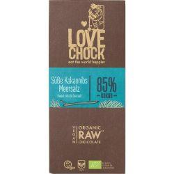 Ciocolata RAW Vegana cu sare de mare x 70g Lovechock