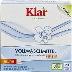 Detergent pentru rufe cu nuci de sapun fara parfum x 1.1kg Klar