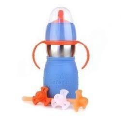 Cana Safe Sippy 2 albastru - Kid Basix