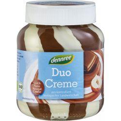Crema de ciocolata bio cu alune si lapte x 400g Dennree