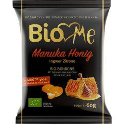 Bomboane cu miere de Manuka si ghimbir x 60g Bio Loves Me