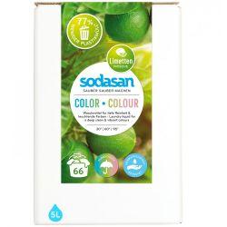 Detergent lichid pentru rufe colorate bag-in-box x 5L Sodasan