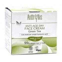 Crema de fata anti-age pentru zi, cu ceai verde, vegan x 50ml Anthyllis