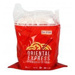 Taitei subtiri din soia (Vermicelli) fara gluten, fara grasimi x300g Fior di Loto