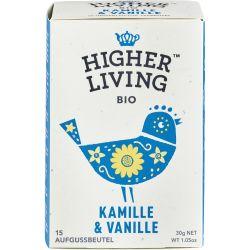 Ceai cu musetel si vanilie 15 plicuri bio x30g Higher Living