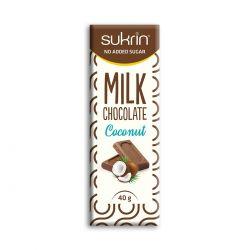 Ciocolata cu lapte si cocos x 40g Sukrin