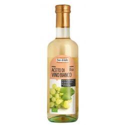 Otet bio de vin alb, nepasteurizat x 500ml Fior di Loto